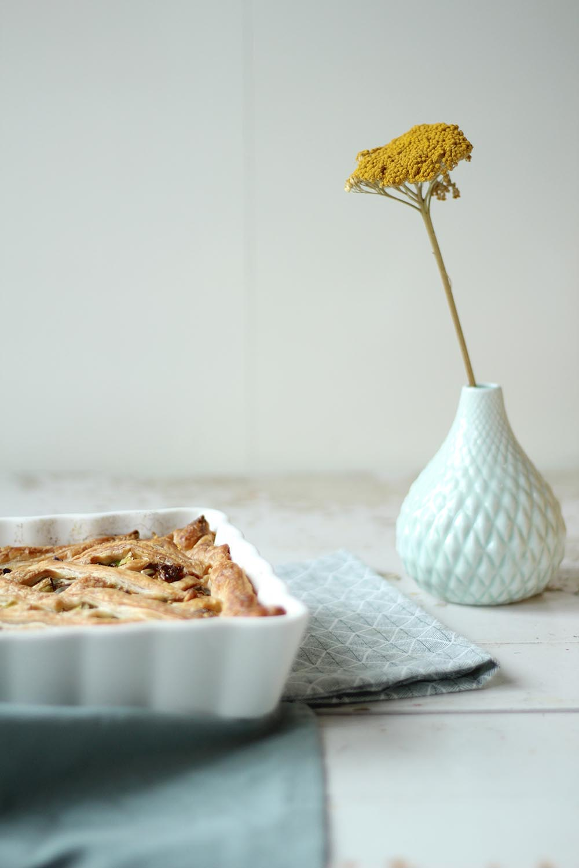 Recept quiche geitenkaas honing en walnoten